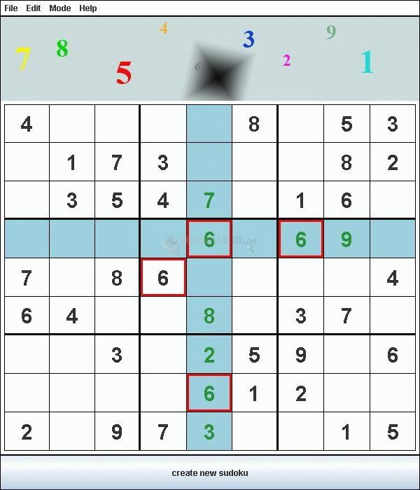 Pantallazo Sudokumat
