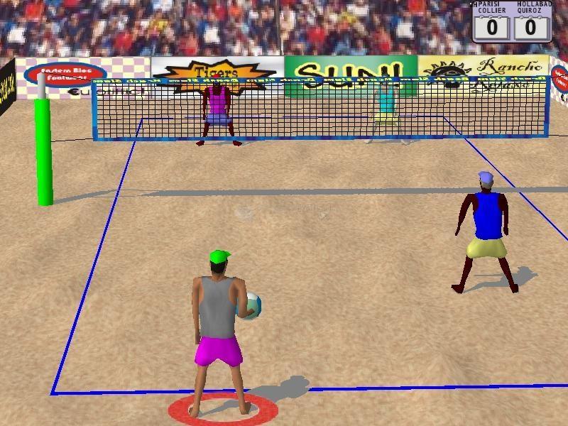 Pantallazo Beach Slam 2: Pro Beach Volleyball