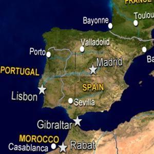 Pantallazo Interactive World Map