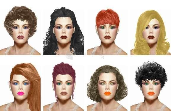 Pantallazo MAGGI - Hairstyles & Cosmetics Software