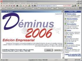 Pantallazo Déminus Edición Micro Empresa