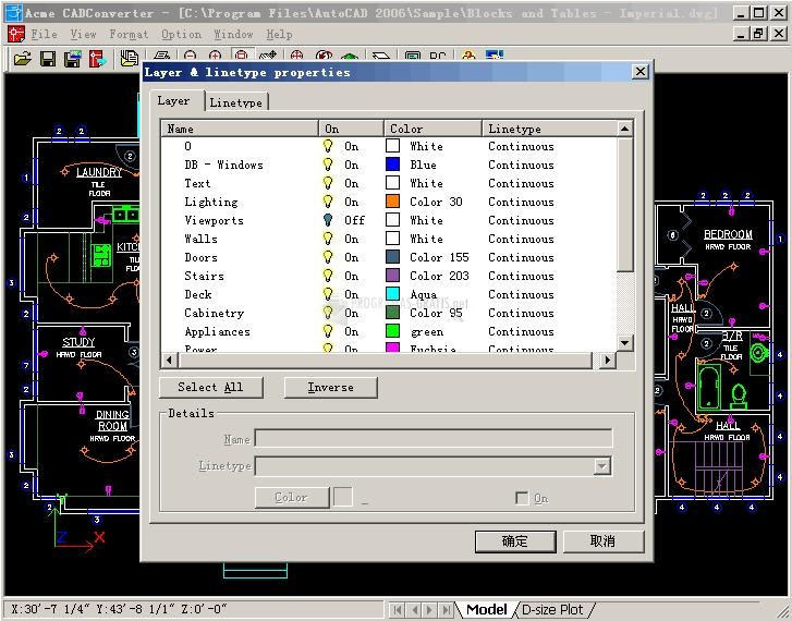 Pantallazo Acme CAD Converter