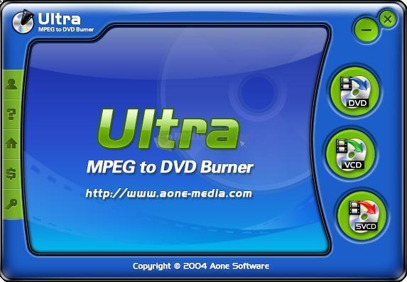 Pantallazo Ultra MPEG to DVD Burner