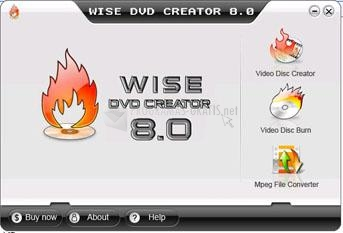 Pantallazo Wise DVD Creator