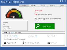 Pantallazo SMART PC Professional