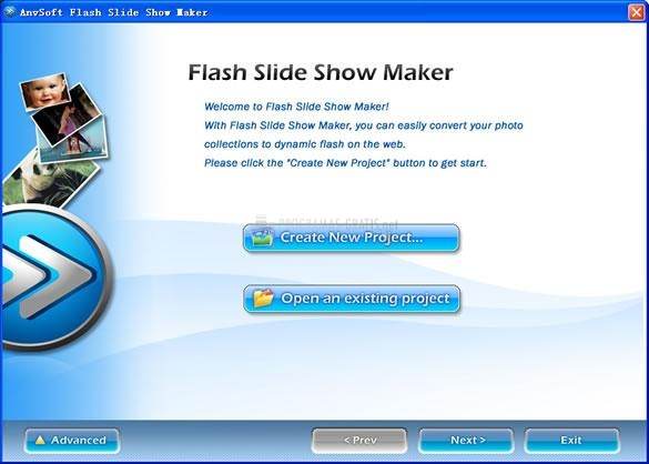 Pantallazo Flash Slideshow Maker