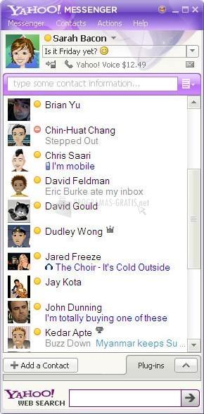 Captura Yahoo! Messenger