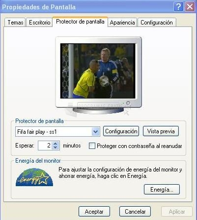 Pantallazo FIFA Fair Play