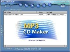 Pantallazo MP3 CD Maker