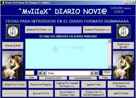 Pantallazo Diario Novi@