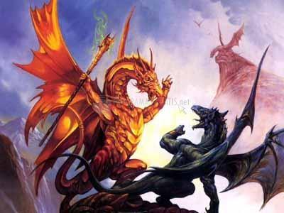Pantallazo Dragons Screensaver