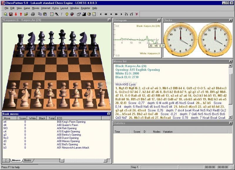 Pantallazo ChessPartner