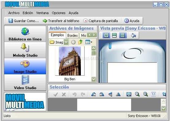 Pantallazo Movil Multimedia