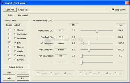 Pantallazo Sound Effect Maker