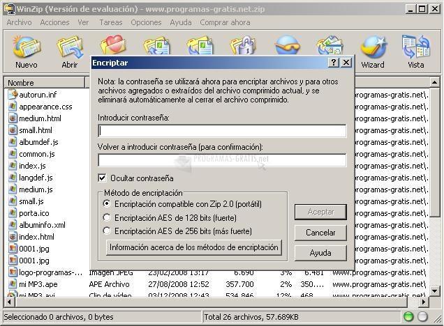 Descargar WinZip 21 Gratis Para Windows