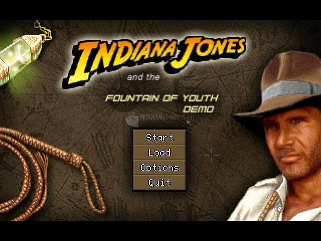 Pantallazo Indiana Jones y la Fuente de Juventud