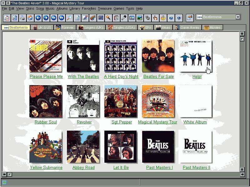 Pantallazo The Beatles 4ever