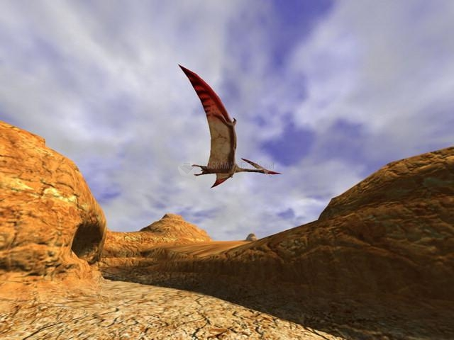 Pantallazo 3D Canyon Flight Screensaver