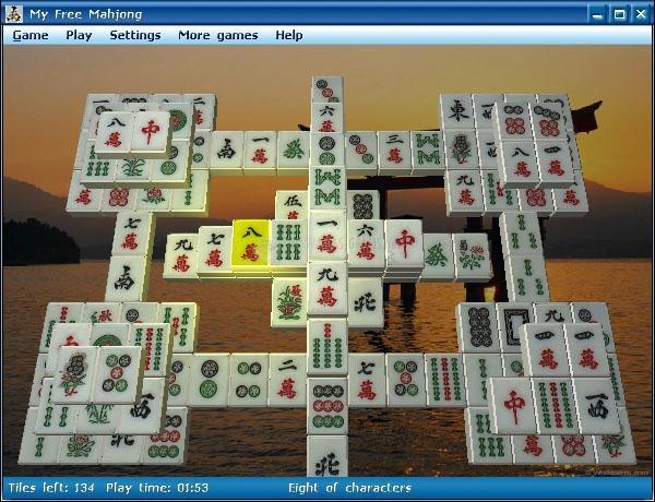 Pantallazo My Free Mahjong
