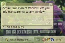 Pantallazo Actual Transparent Window