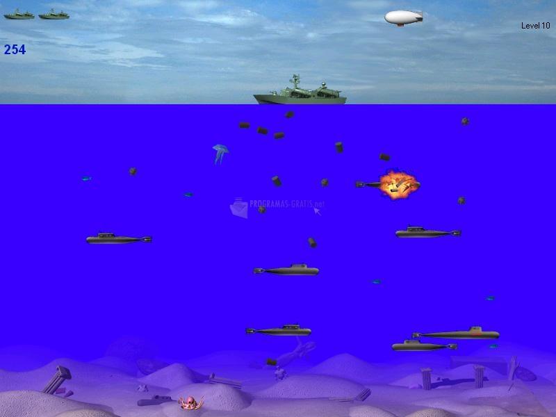 Pantallazo Submarines