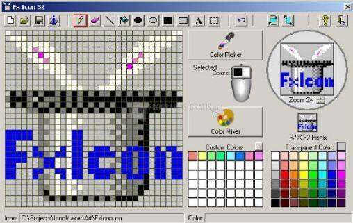 Pantallazo FX Icon Maker