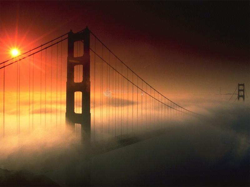 Pantallazo Fondo de Escritorio Golden Gate