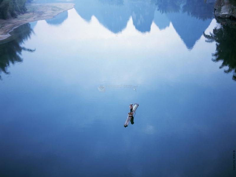 Pantallazo Fondo de Pantalla Lago Solitario