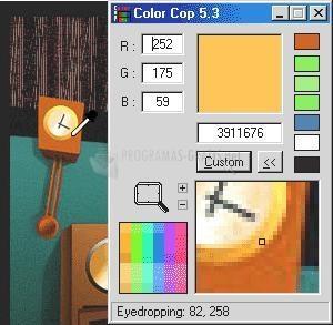 Pantallazo ColorCop