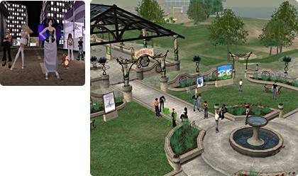 Pantallazo Second Life