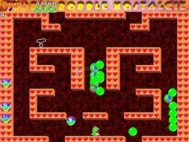 Pantallazo Bubble Bobble Nostalgie