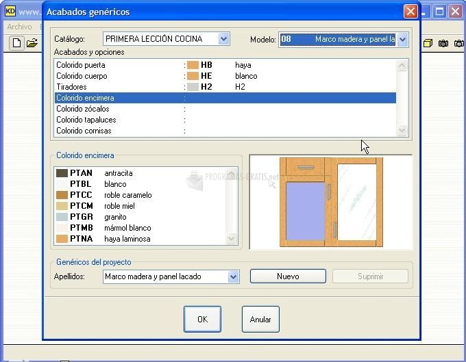 Descargar Kitchen Draw 6.5 Gratis Para Windows