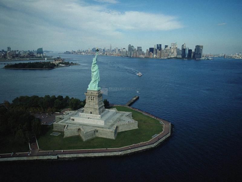 Pantallazo Fondo Estatua de la Libertad