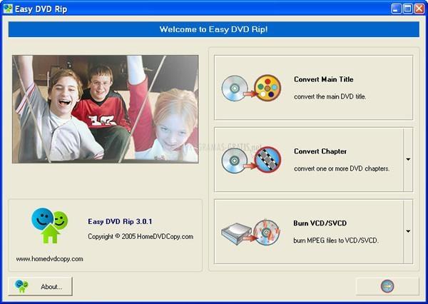 Pantallazo Easy DVD Rip