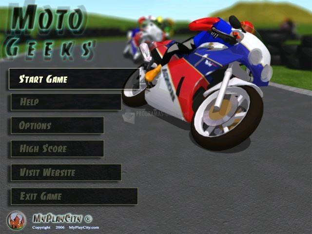 Pantallazo Moto Geeks