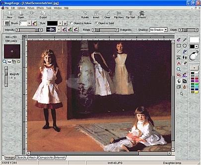 Pantallazo ImageForge PRO