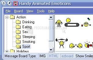 Pantallazo Handy Animated Emoticons