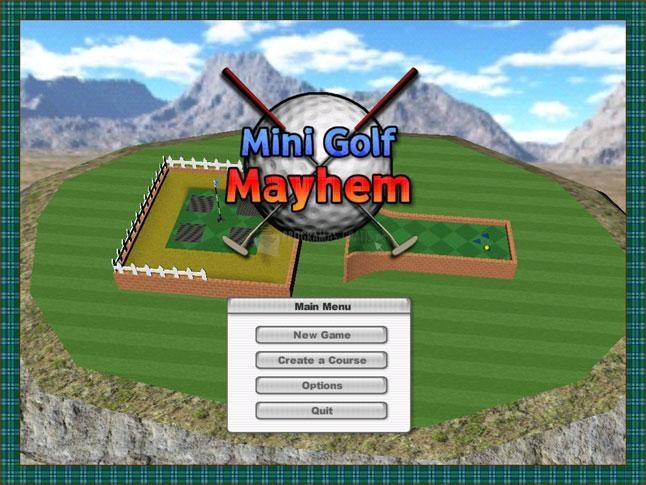 Pantallazo Mini Golf Mayhem