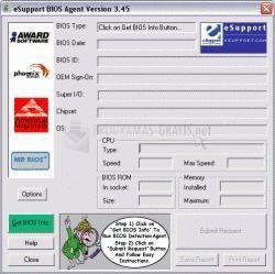 Pantallazo BIOS Agent
