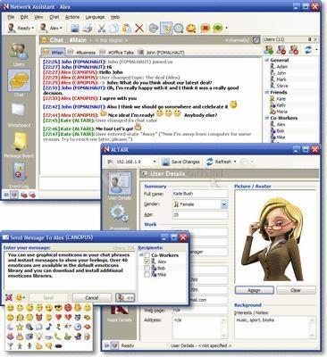 Pantallazo Network Assistant