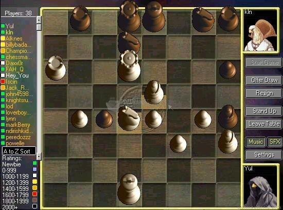 Pantallazo Kung Fu Chess