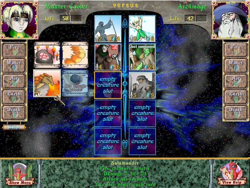 Pantallazo Astral Tournament