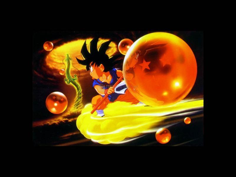 Pantallazo Fondo de escritorio Dragon Ball