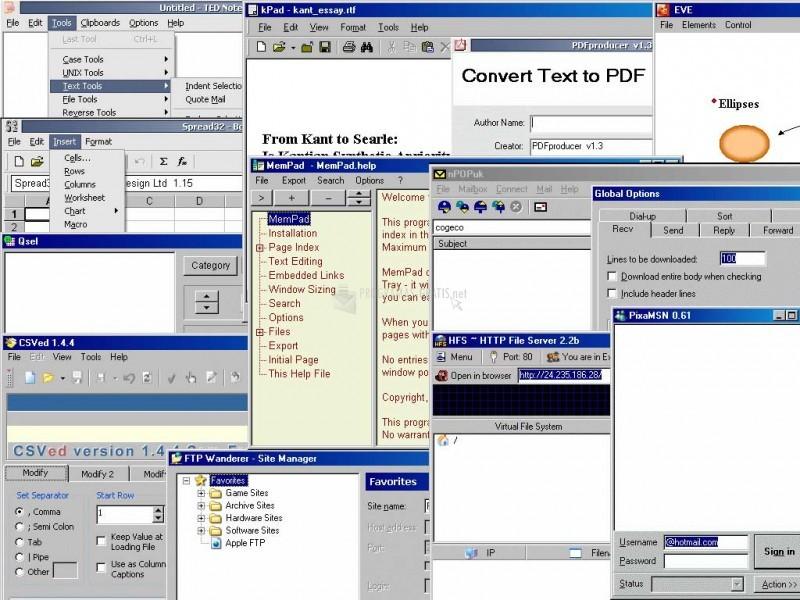 Pantallazo Floppy Office