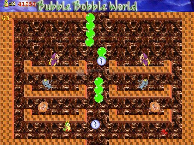Pantallazo Bubble Bobble World
