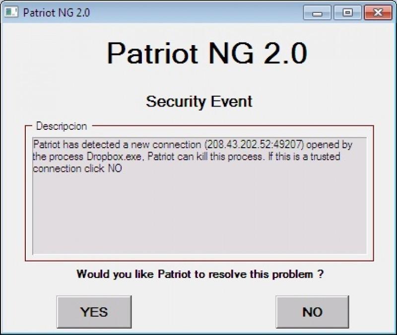 Pantallazo Patriot