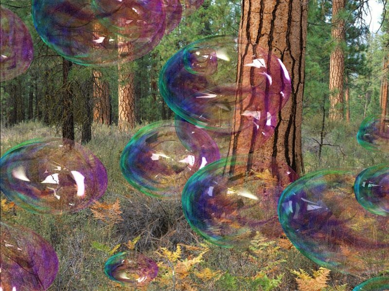 Pantallazo Amazing Bubbles 3D Screensaver