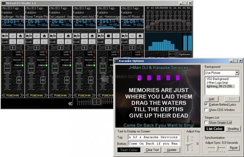 Pantallazo Virtual DJ Studio