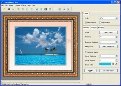 Pantallazo Frame Maker Pro