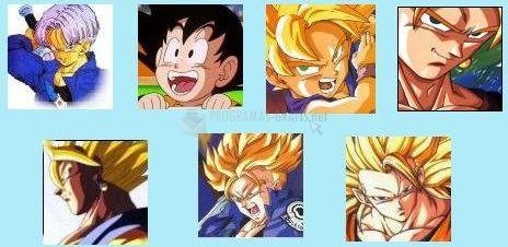 Pantallazo Dragon Ball Pack Avatares